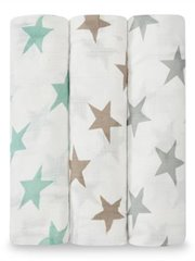 Bamboo Swaddle-3 Pack-Milky Way