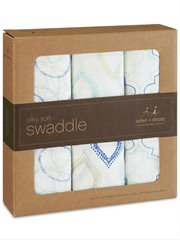 Bamboo Swaddle 3 Pk Sprout