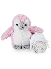 For The Birds Owl Swaddle & Toy