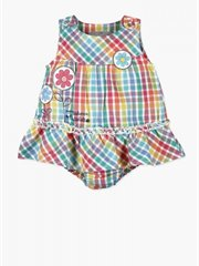 Poplin Dress For Baby Girl