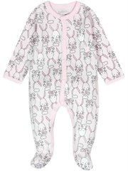 Interlock Play Suit For Baby Girl