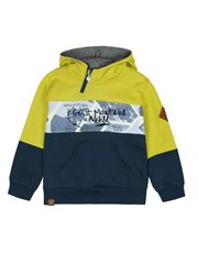 Fleece Hooded Sweatshirt For Boy