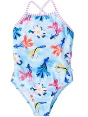 Madeline Fish Print Swim Suit