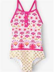 Pink & Gold Sarchi Colourblock Swim