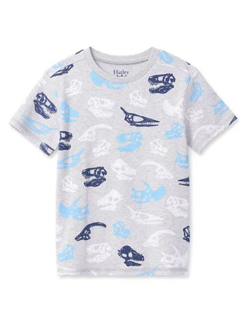Dino Fossils Graphic Tee