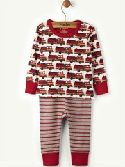 Fire Trucks Baby Pj Set