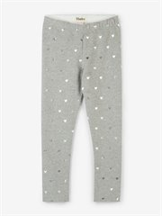 Metallic Hearts Leggings