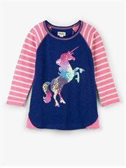 Playful Unicorn Raglan Tee