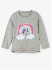 Retro Rainbow Long Sleeve Tee