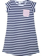 Navy Stripe Snr Nightie