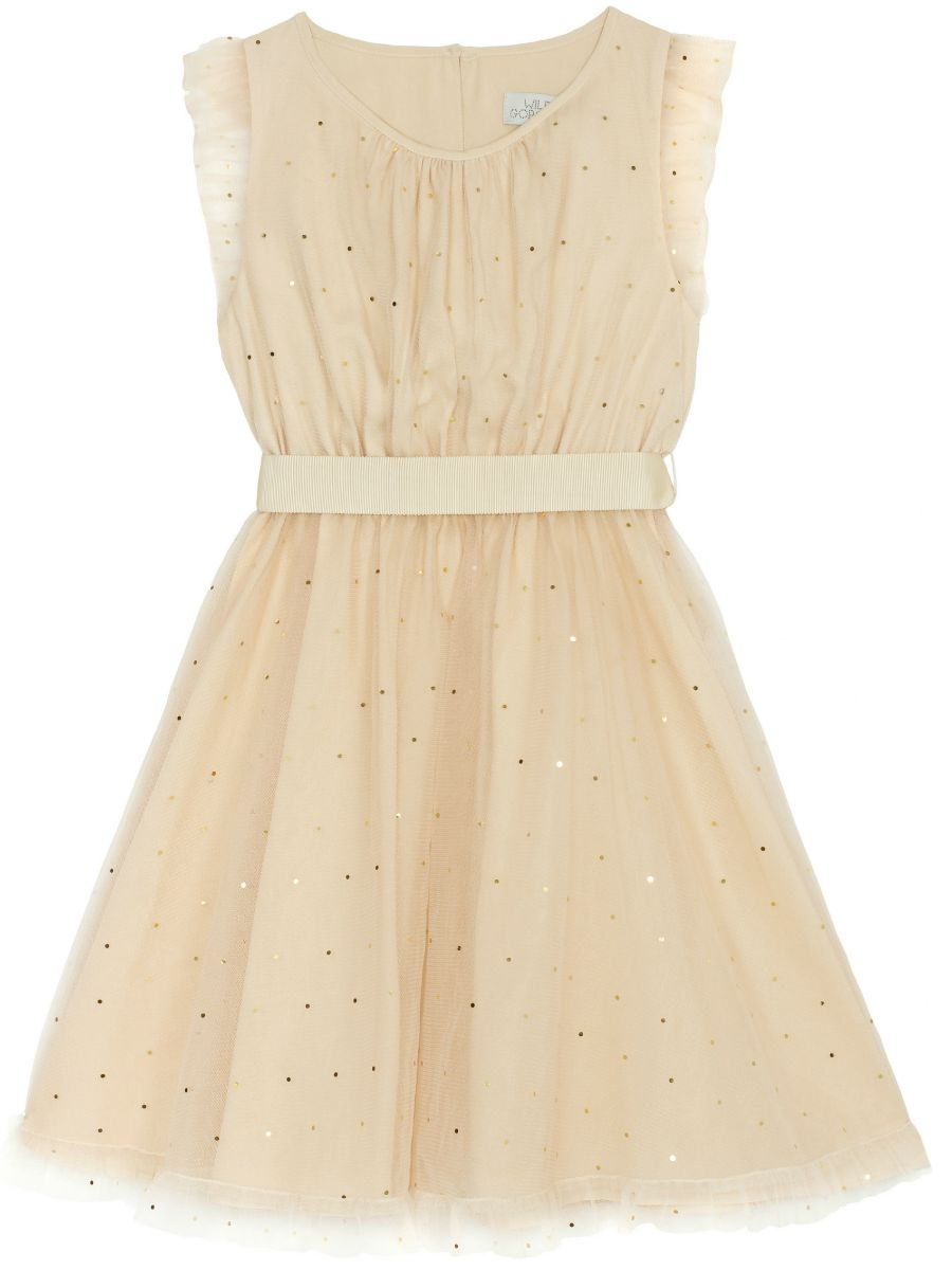Gold Dot Christina Dress - Wild & Gorgeous - Bonza Brats