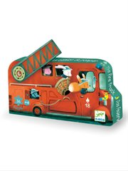 Sil Puzzle The Fire Truck 16Pc