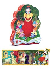 Silhouette Puzzle Snow White 50Pc