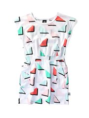 Triangles Pocket Dress
