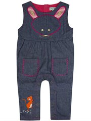Chambray Character Dungaree