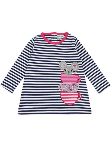 Mouse Applique Dress W/Leggings