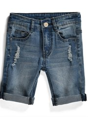 Blasted Denim Short