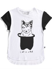 Cat In A Hat Drop Tee