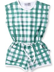 Painted Gingham Playsuit