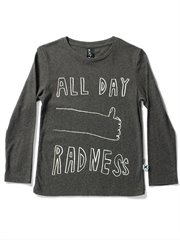 All Day Radness Ls Tee