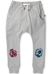 Painted Pansy Furry Trackies