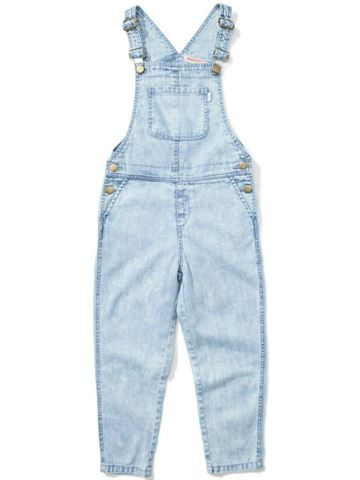 Peace And Love Denim Overall