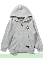Skull Hander Fleece Zip Hoody