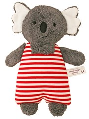 Koala Toy Rattle Red