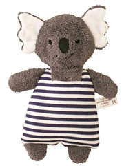 Koala Toy Rattle Navy