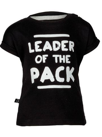 Tom Hipster Black Leader Tee