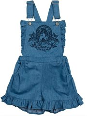 Frilled Overalls - Paper Wings For