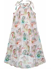 Hi Lo Maxi Dress - Flower Fairies