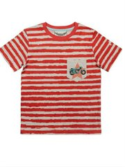 Classic Tee - Red Stripe
