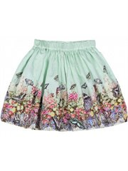 Gathered Skirt - Flower Garden