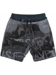 Fleece Pocket Shorts - Black Board