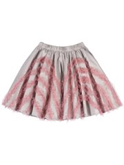 Circle Skirt With Frills