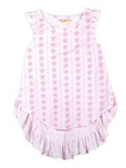 Frilled Bustle Singlet - Stars And