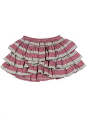 Frilled Skirt - Stripes