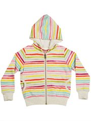 Hoodie - Coloured Stripes