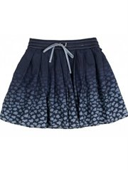 Pleated Skirt - Tiny Clouds