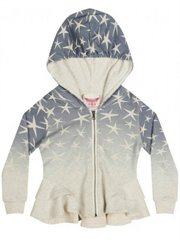 Bustle  Hoodie - Star Ombre