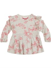 Frilled Smock Tshirt - Doves