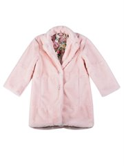 Fur Coat - Rose Unicorn Pink