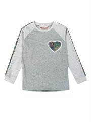 Long Sleeve Raglan T-Shirt - Rainbo