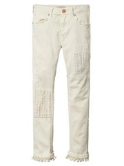 Relaxed Fit Pant With Embr And Shel