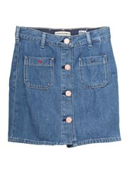 Denim Skirt - Easy Vibe
