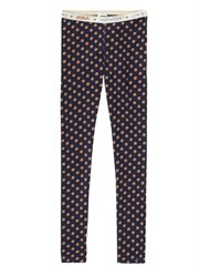 All-Over Printed Cotton Legging