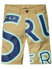 Big Letters Chino Short