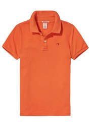 Short Sleeve Dyed Pique Polo