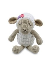 Medium Sitting Toy Lamb